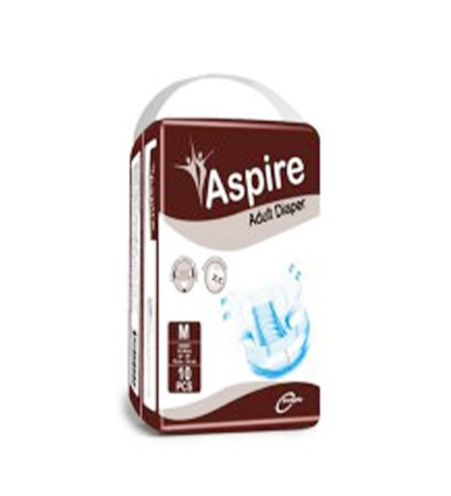 Aspire Adult Diaper M 76-116CM 10PCS-min