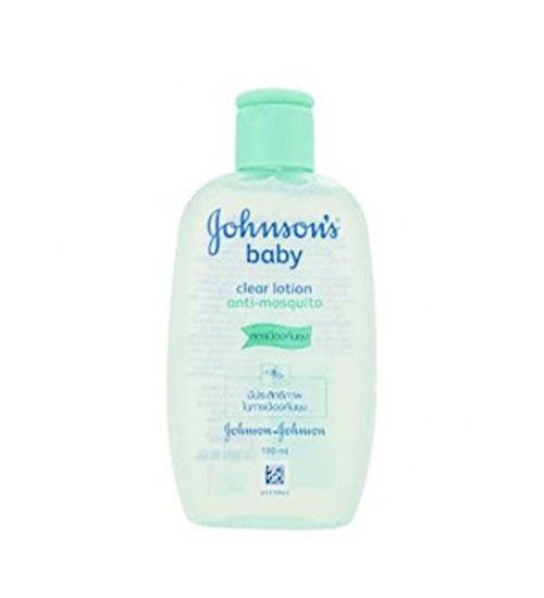 Johnson's Baby Clear Lotion Anti Mosquito 100ml-min