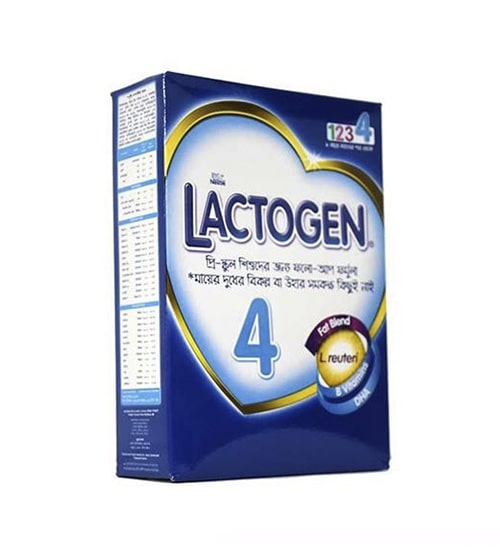 Nestle Lactogen 4 Follow Up Formula (2-5 years) 350gm-min