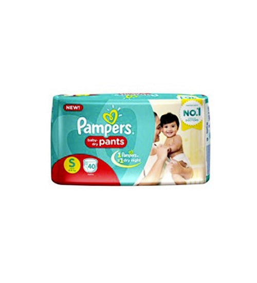 Pampers Baby Dry Pants S 4-8Kg 40Pcs-min