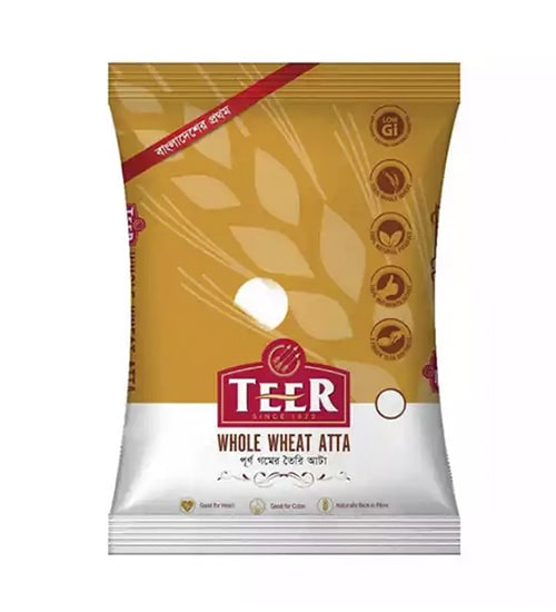 Teer Whole Wheat Atta 1kg-min