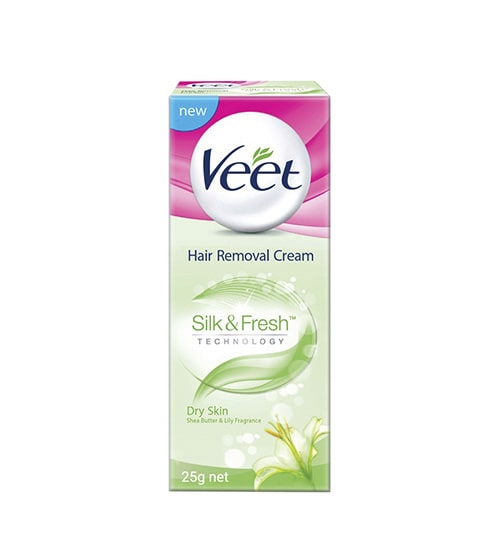 Veet Hair Removal Cream 25 gm Dry Skin-min