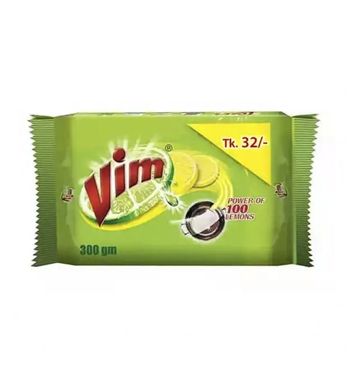 Vim Dishwashing Bar 300g 2-min