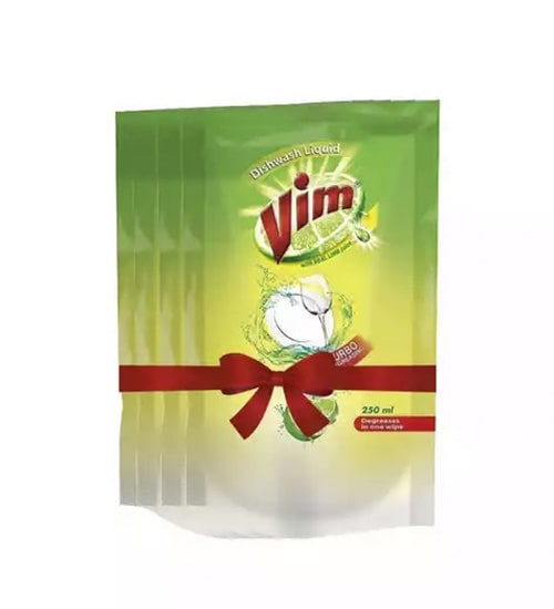 Vim Dishwashing Liquid Value Pack 250ml-min
