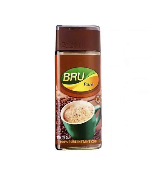 Bru Pure Instant Coffee Jar-min