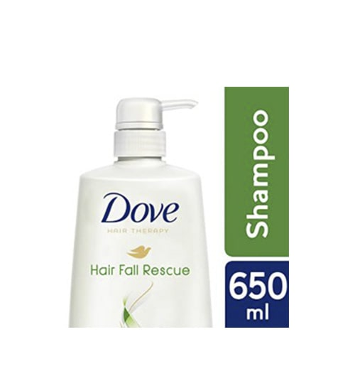 Dove Shampoo Hair fall Rescue 650ml-min