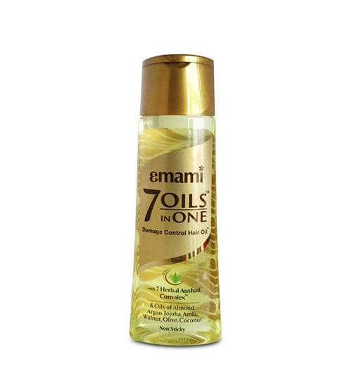 Emami 7 Oils in One Damage Control Hair Oil 300ml-min