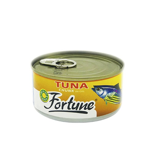 Fortune Tuna Chunk In Oil 185gm-min