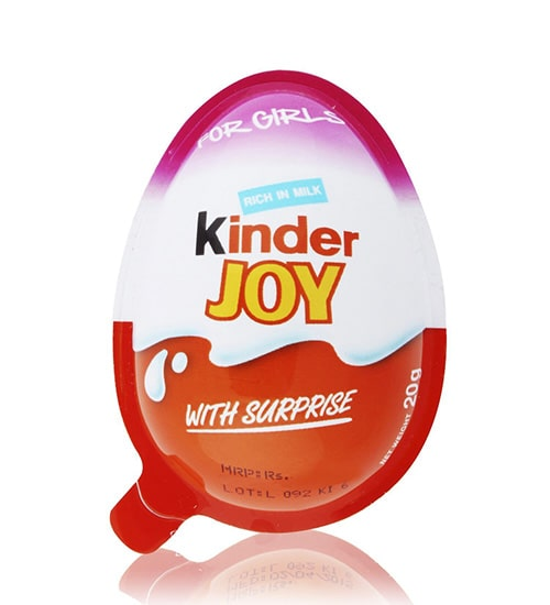 Kinder Joy Chocolate For Girls 20g-min
