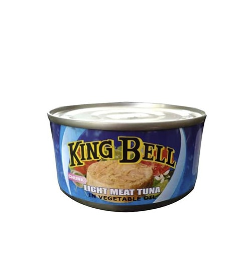 King Bell L M Tuna Chunk In Veg Oil 185g-min