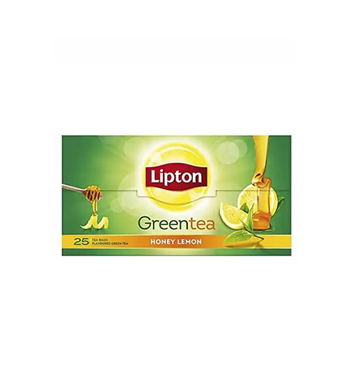 Lipton Green Tea Bag Honey and Lemon-min