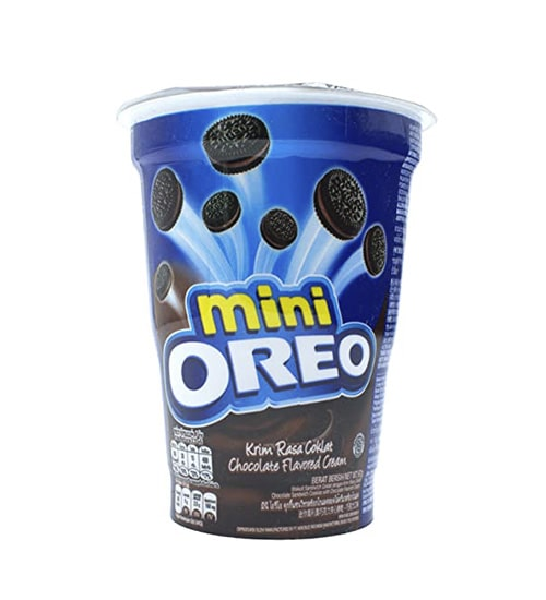 Mini OREO Chocolate Flavoured Cup Biscuit 67gm-min