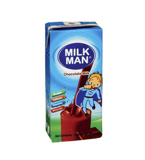 Pran Milk Man Chocolate Milk 200ml-min