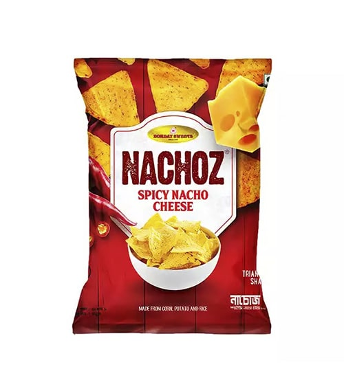 Bombay Sweets Nachoz Spicy Nacho Cheese-min