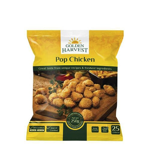 Golden Harvest Pop Chicken 35pcs (250g)-min