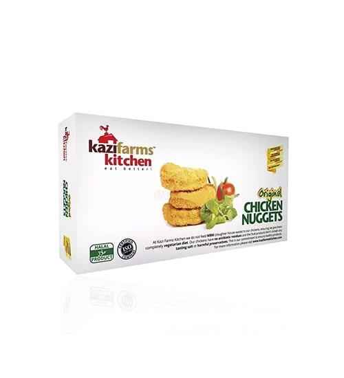 Kazi Farms Kitchen Original Chicken Nuggets (250gm)-min