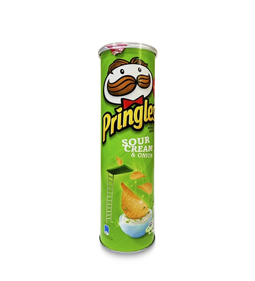 Pringles Sour Cream & Onion (147g)-min