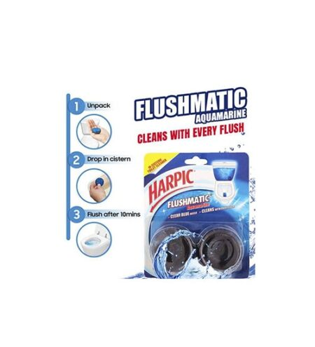 harpic flushmatic toilet cleaner twin pack min