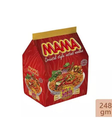 mama instant noodles hot spicy flavor 248 gm min