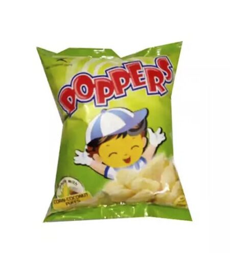 poppers corn coconut puffs chips 25 gm min