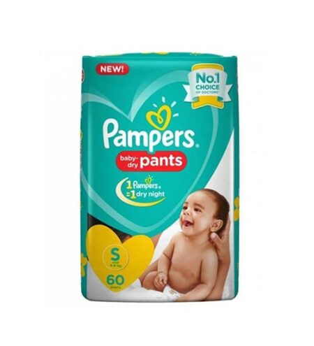 pampers baby dry pants diaper s 4 8 kg 58 pieces