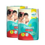pampers baby dry pants diaper s 4 8kg 8 pieces 2 pieces combo